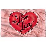I Love Lucy - 3D Logo Fleece Blanket 57 x 35in