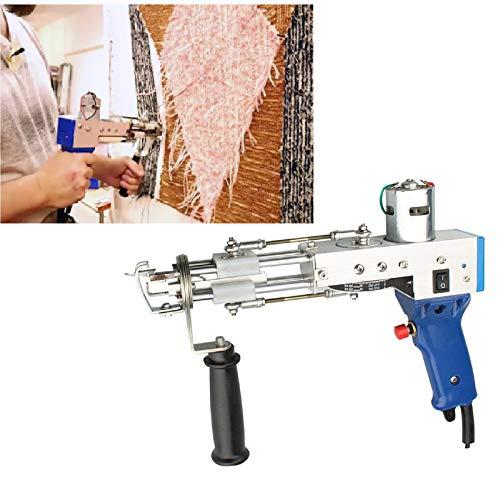 Tufting Maquina, Rug Tufting Gun Electric, máquina eléctrica de tejer alfombras de bucle 9–21 mm, máquina de tejer de mano, Carpet Tufting Gun, Ligero 1.4kg, 220 V por TZUTOGETHER