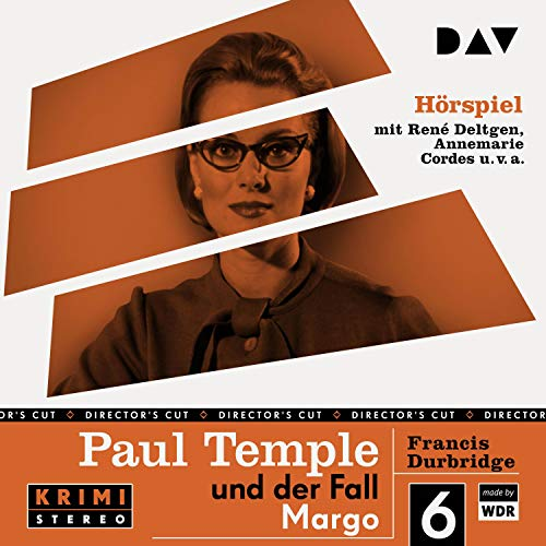 Paul Temple und der Fall Margo. Original-Radio-Fassung cover art