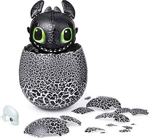 Dreamworks Dragons, Hatching Toothless Interactive Baby Dragon with Sounds, for Kids Aged...