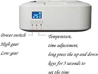 AZBYC Calefactor Electrico Portatil con Pantalla LED, Calefactor electrico, Termostato Ajustable para El Hogar Y Oficina