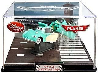 Disney / Pixar PLANES Movie Exclusive 1:43 Die Cast Plane In Plastic Case Franz Fliegenhosen