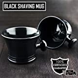 Shaving Soap Bowl /Mug With Handle unbreakable plastic light weight by Haryali London