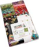 Ann Lauer Cat-i-tude Christmas Strip-Pies 40 2.5-inch Strips Jelly Roll Benartex