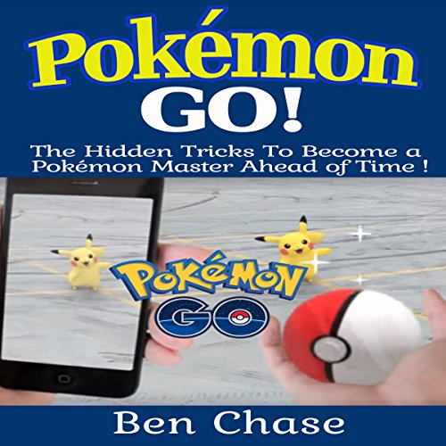 Pokemon Go! audiobook cover art