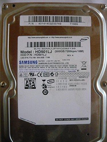 Festplatte Modell Samsung HD501LJ 500GB / 7200rpm