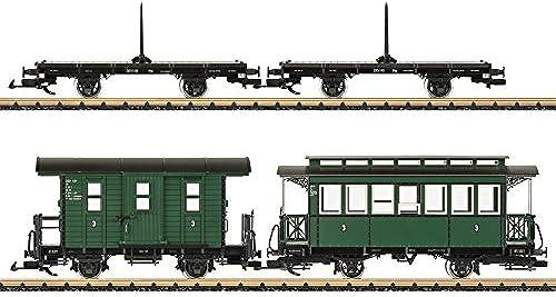 LGB 49390 - Güterzug mit Personenbef erung DEV