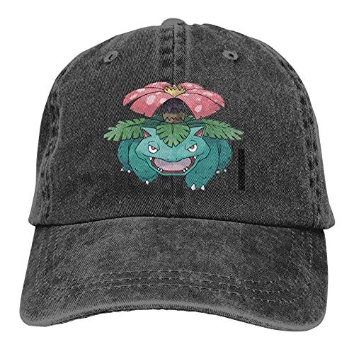 Anime Vintage Black Dad Hat for Men Women Novelty Sports Baseball Cap Funny Japanese Casquette