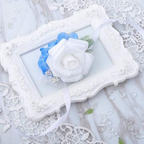 Prom flower bracelet _image4