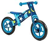 Nicko Vélo d'équilibre en Bois pour Enfant – Vélo de Course – Premier vélo – Vélo d'entraînement (Space Star 859)