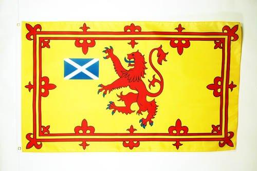 AZ FLAG Flagge SCHOTTLAND KÖNIGLICH 90x60cm - Schottische Fahne 60 x 90 cm - flaggen Top Qualität