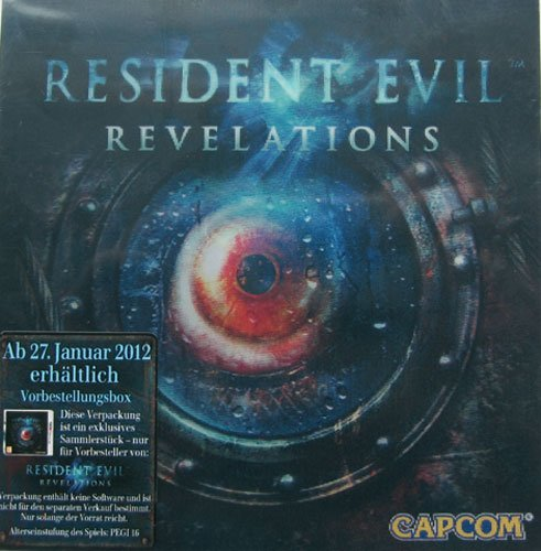 Resident Evil Revelations Pre-Order-Pack mit Poster (Spiel separat erhältlich)
