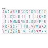 Ai-life 85 Piezas DIY Decorativos Especiales Cinema Signos Símbolos Letras Números, Signos de Cine para Caja de luz de Tamaño A4, Set Complementario en Color