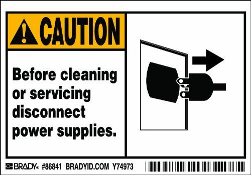 Brady 86841, Equipment/Oem Labels, 3 1/2