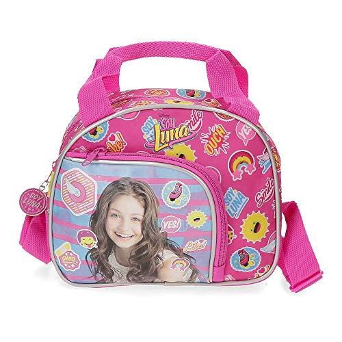Disney Yo Soy Luna Neceser Adaptable con Bandolera Rosa 23x19x10 cms Poliéster
