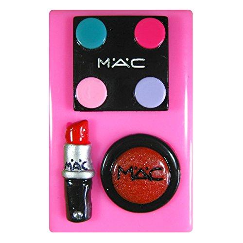 Entwerfer bilden Augenschminke Lippenstift Lipgloss SilikonForm für Kuchen Dekorieren, Kuchen, kleiner Kuchen Toppers, Zuckerglasur, Fondantform, Sugarcraft Werkzeug durch Fairie Blessings