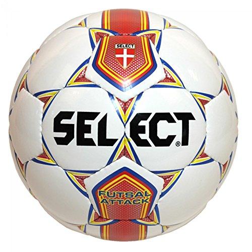 SELECT Pallone Calcetto Attack Bianco 4