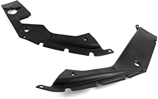 Engine Bay Side Panel Covers Compatible With 2016-2018 Honda Civic   Unpainted ABS Long Version X Gen 10 Generation Left and Right Pair by IKON MOTORSPORTS