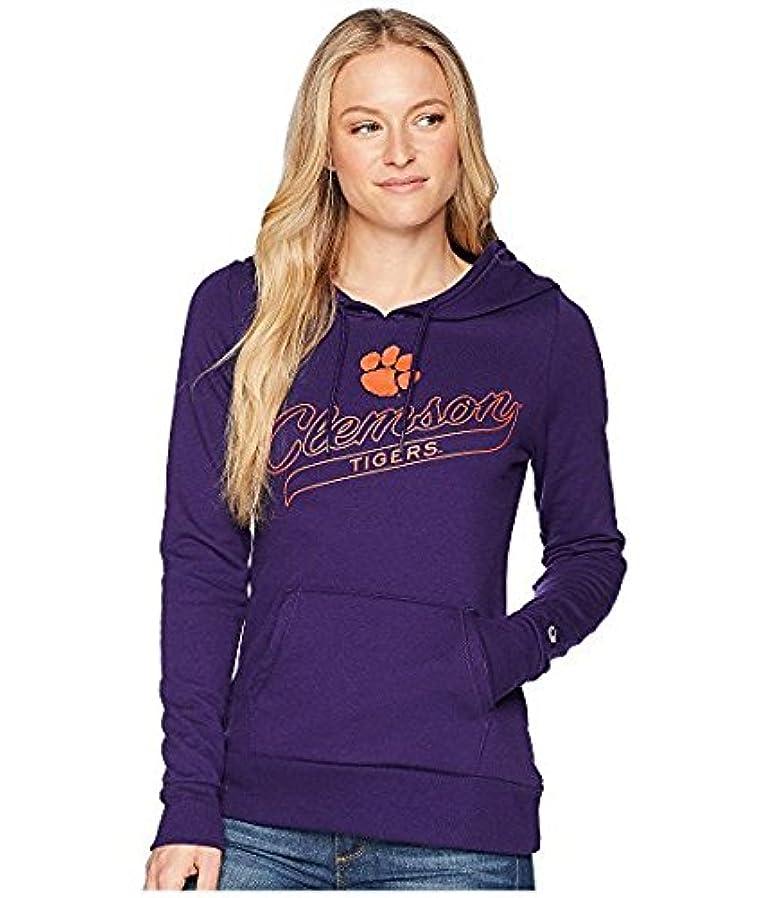 剪断安いです療法チャンピオン Champion College レディース パーカー スウェット Collegiate Purple Clemson Tigers Eco Univer XS Collegiate Purple [並行輸入品]