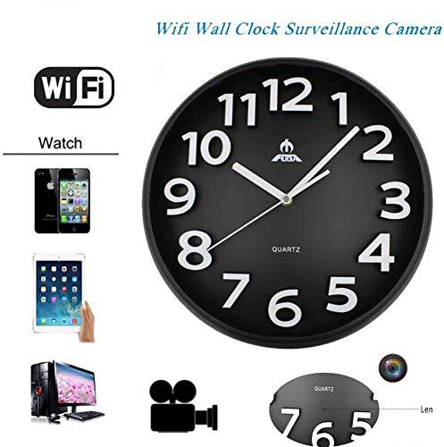 versteckte WiFi-Kamera, Wanduhr, versteckt, 1080P, WiFi, Smart Home Security Mini-Kameras, CCTV, versteckt, Überwachung der Sicherheit zu Hause, für den Innenbereich