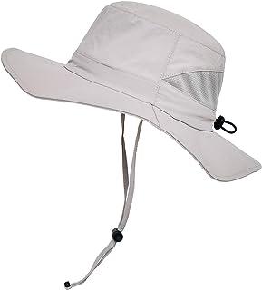 SOMALER Toddler Kids Sun Hats Wide Brim UV Sun Protection Hat Boys Girls Summer Bucket Sun Hat