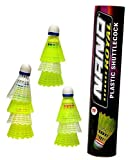 Best Badminton Shuttlecocks - Badminton Shuttlecock Nano Plastic 10 Piece (1 Box) Review