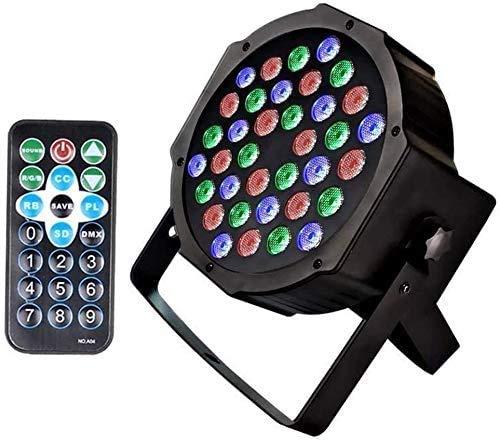 Par Lichter Led Scheinwerfer Disco Bühnenlicht 36 LEDs DJ Licht Strobe Lichteffekte DMX512 Soundaktivierte Steuerung mit Fernbedienung Partylicht