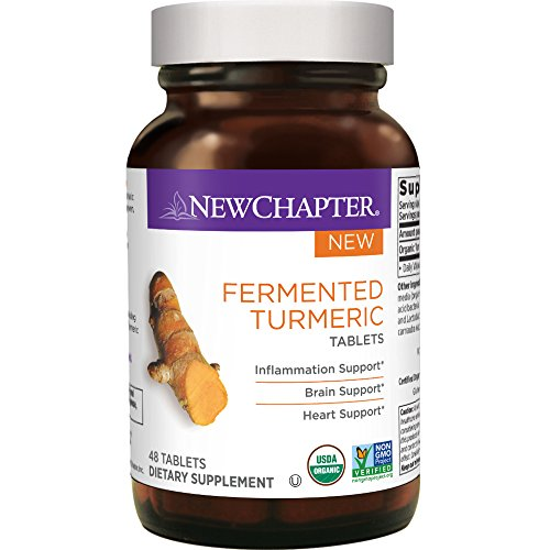 New Chapter Fermented Turmeric Tablets, 48 Count