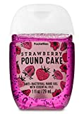 Bath and Body Works Pocketbac Hand Sanitizer - Strawberry Pound Cake (Packaging Varies)