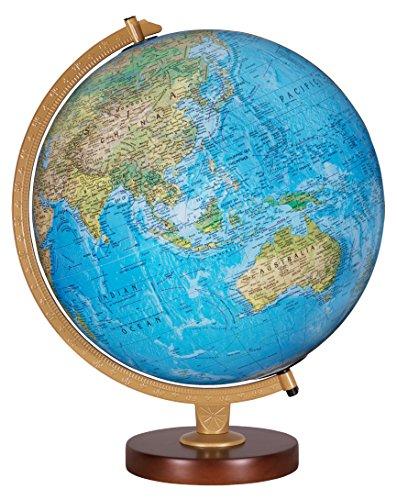 Replogle Globes Livingston Globe, 12-Inch, Blue Illume