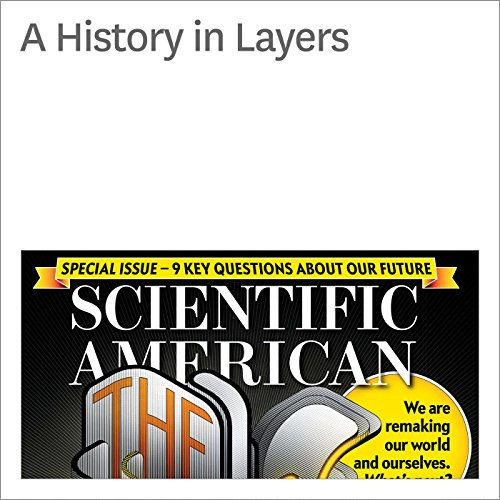 A History in Layers audiobook cover art