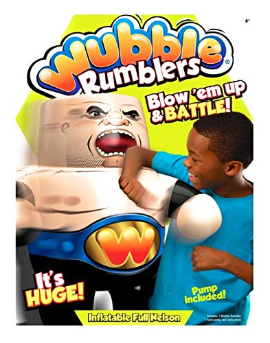 Wubble Rumblers Inflatable Wrestler - Full Nelson