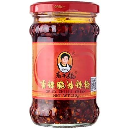 Lao Gan Ma Guindilla en Aceite Paquete de 1 x 210 Gr 210 g