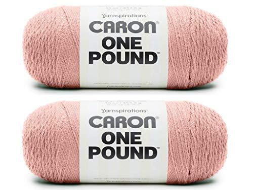 Caron One Pound Yarn - 2 Pack (Coral Blush)