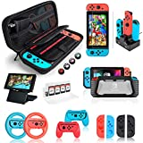 Switch Accessories Bundle - Orzly Geek Pack for...