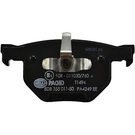 Hella 8db 355 011 531 T1469 Brake Pad Set Rear Contents 4 Floors Auto