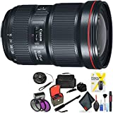 Canon EF 16-35mm F/2.8L Iii USM Lens for Canon 6D, 5D Mark IV, 5D Mark III, 5D Mark II, 6D Mark II, 5Dsr, 5Ds, 1Dx, 1Dx Mark II + Accessories (International Model)