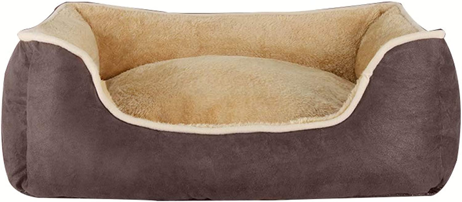 Pet house Pet Bed Kennel Four Seasons Universal Pet Mat For Big In Small Dog Winter Keep Warm Washable (color   A, Size   S)