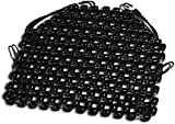 Zento Deals Double Strung Wooden Beaded Ultra Comfort Massaging Seat Cover - Black Massaging Car Motorcycle Seat Cover for Ultimate Relaxation!