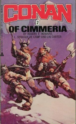 Conan 02 Of Cimmeria (Conan Series) 0441114539 Book Cover