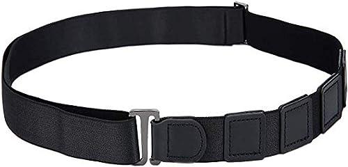 Men s and Women s Elastic Adjustable Tucker Shirt Stay Belt In shirt Holder Garter Belt Black Free Size