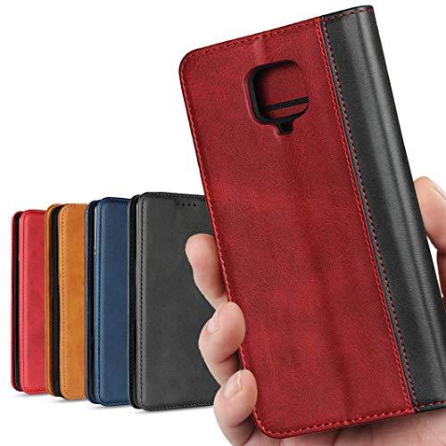 Xiaomi Redmi Note 9S ケース 64GB / 128GB SIMフリー 対応 スマホケース REDMI Note9S 手帳 カバー Note9S ケース カバー 携帯ケース 携帯カバー case 高質合成皮革 内蔵マグネット 携帯カバー