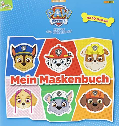PAW Patrol: Mein Maskenbuch: Mit 10 Masken: Helfer auf vier Pfoten - Mit 10 Masken