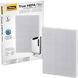 Fellowes 0 True HEPA Filter with AeraSafe Antimicrobial Treatment, White