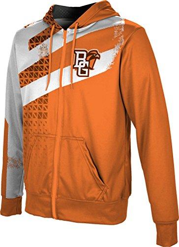 of boys bowling jackets Bowling Green State University Boys' Zipper Hoodie, School Spirit Sweatshirt (Structure)