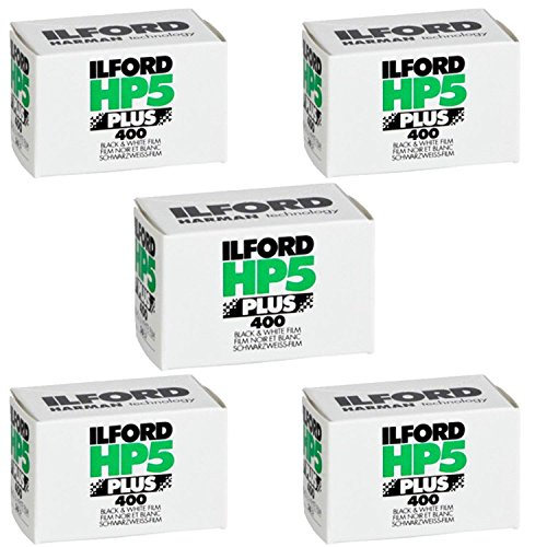 Great Features Of Ilford HP5 Plus, Black and White Print Film, 35mm, ISO 400, 36 Exposures (5 Pack)
