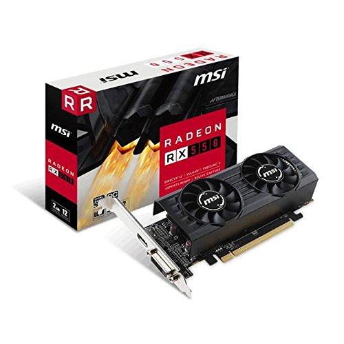 MSI Gaming Radeon RX 550 128-bit 2GB GDRR5 DirectX 12 VR Ready...