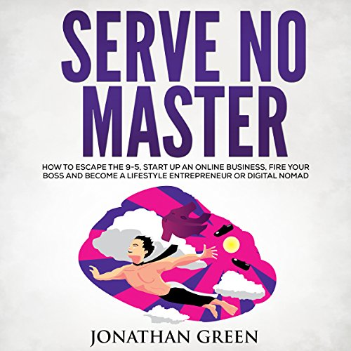 Serve No Master audiobook cover art