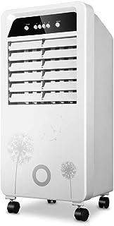 Acondicionado Evaporativo Aire Acondicionado Portátil Aire Acondicionado Móvil Evaporativo Ventilador De La Torre Aire Frío Refrigeración Humidificación 10L Purificación A Prueba De Polvo
