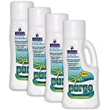 4) Natural Chemistry 04137 Water Chemical Hot Tub Spa Purge Cleaner - 1L Each